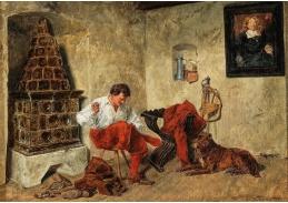 D-6012 Rudolf Otto Ritter von Ottenfeld - Roztrhané kalhoty