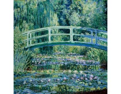 VCM 139 Claude Monet - Japonský most s lekníny