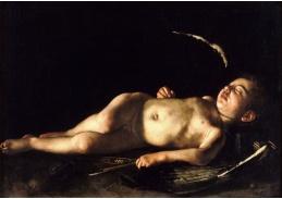 VCAR 13 Caravaggio - Spící Amor