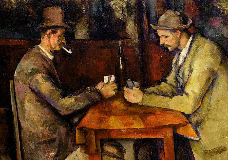 R10-2 Paul Cézanne - Hráči karet