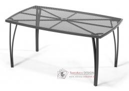 ANTVERPY, zahradní kovový stůl, antracit