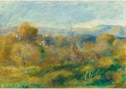 D-6711 Pierre-Auguste Renoir - Krajina s vesnicí v údolí