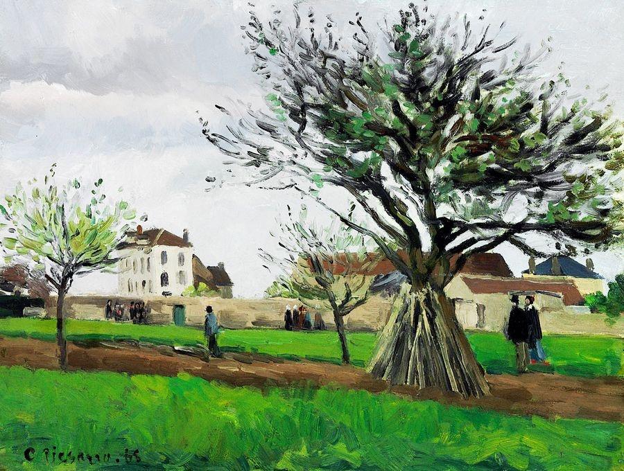 VCP-338 Camille Pissarro - Jabloně v Pontouise