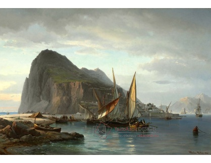 VL76 Vilhelm Melbye - Lodě v Gibraltaru