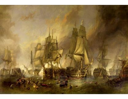 VL152 Clarkson Frederick Stanfield - Bitva u Trafalgaru