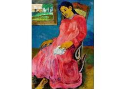KO V-123 Paul Gauguin - Melancholická Faaturuma