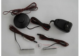 TOPRI, osvětlení LED k vitríně 2x L 930, bílá