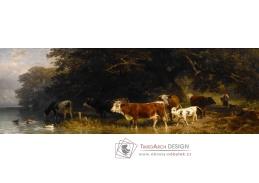 A-1294 Friedrich Voltz - Krajina s dobytkem