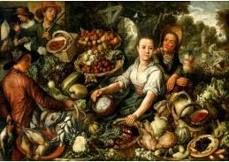 D-9498 Joachim Beuckelaer - Zeleninový trh