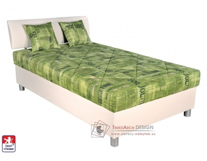 SKATE, postel 90x200cm, pevně načalouněná matrace