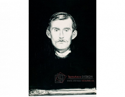 VEM13-71 Edvard Munch - Autoportrét