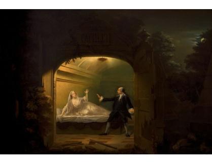 Slavné obrazy XI-110 Benjamin Wilson - David Garrick a George Anne Bellamy v Romeo a Julie