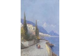 Slavné obrazy X 141 Georg Fischhof - Capri