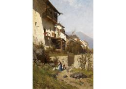 Slavné obrazy X 148 Hans Wilt - Husopáska