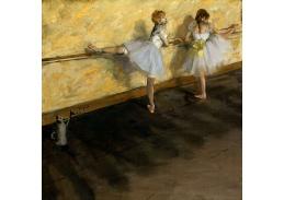 DDSO-2256 Edgar Degas - Tanečníce v Barre
