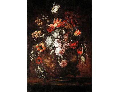 Krásné obrazy II-475 Neznámý autor - Květiny ve váze