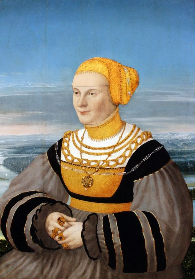 PORT-101 Conrad Faber - Portrét Anny von Holzhausen