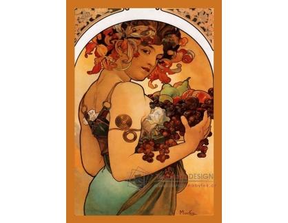 VAM25 Alfons Mucha - Fruits