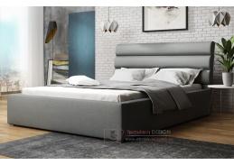 ALDONI, postel 120x200cm, výběr čalounění