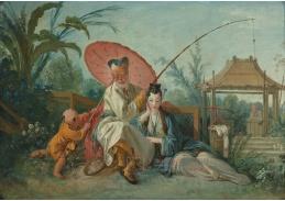 D-6193 Francois Boucher - Čínský motiv