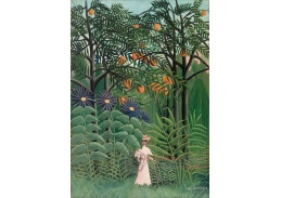 D-7893 Henri Rousseau - Žena v exotickém lese