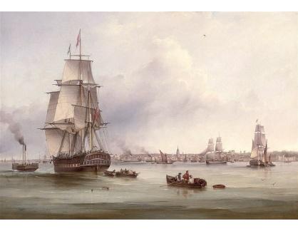VANG260 Samuel Walters - Obchodní loď Thames