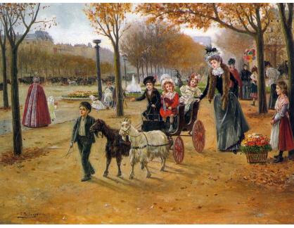 KO III-216 Joaquin Pallares Y Allustante - Procházka v Champs Elysees
