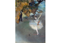 A-158 Edgar Degas - Baletní hvězda