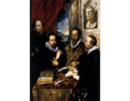 VRU110 Peter Paul Rubens - Čtyři filozofové