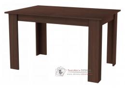 KONGO, jídelní rozkládací stůl 120-170x80cm, wenge