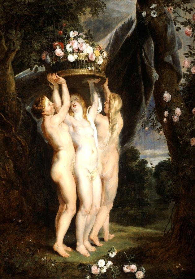 VRU100 Peter Paul Rubens - Tři grácie