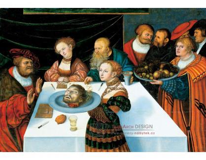 VlCR-194 Lucas Cranach - Svátek Heroda
