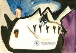VELK 107 Ernst Ludwig Kirchner - Zasněžená krajina