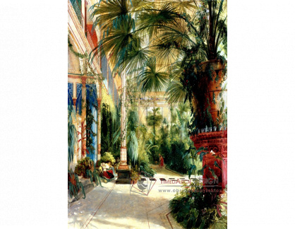 VN-248 Carl Blechen - Palmový dům