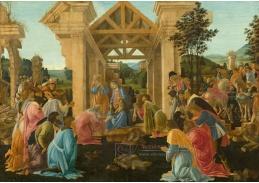 DDSO-1862 Sandro Botticelli - Klanění tří králů