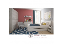 ANGEL, ložnicová sestava nábytku, bílá craft