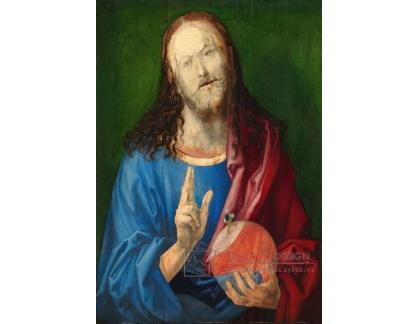 VR12-26 Albrecht Dürer - Salvator Mundi