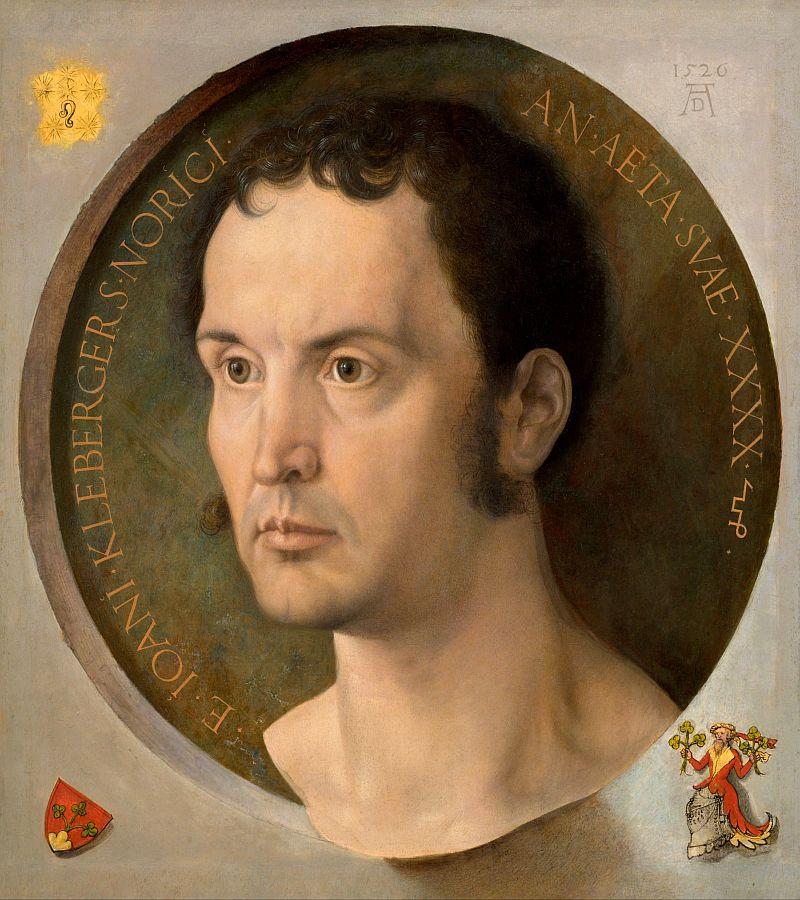 VR12-28 Albrecht Dürer - Johannes Kleberger