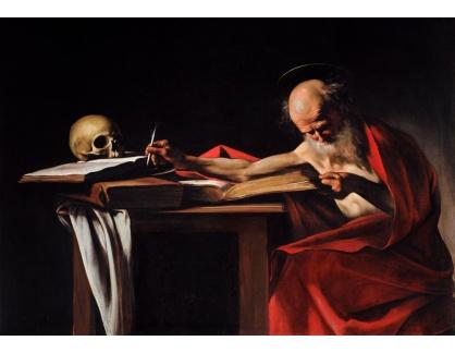 VCAR 10 Caravaggio - Svatý Jeroným