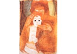 VES 104 Egon Schiele - Madonna s dítětem