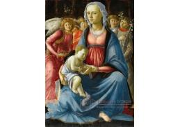 A-86 Sandro Botticelli - Madonna s dítětem a pěti anděly