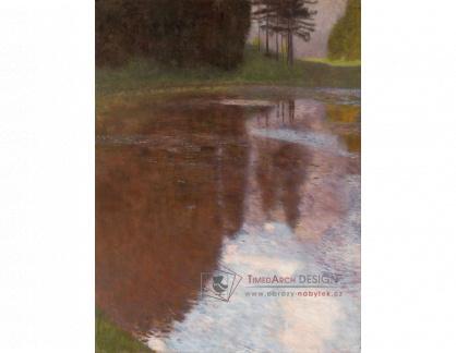 VR3-125 Gustav Klimt - Klidná hladina rybníka