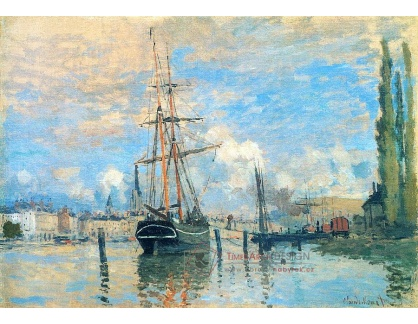 R8-147 Claude Monet - Seina v Rouen