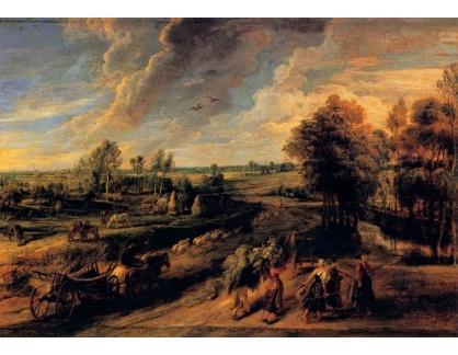 VRU149 Peter Paul Rubens - Návrat z pole