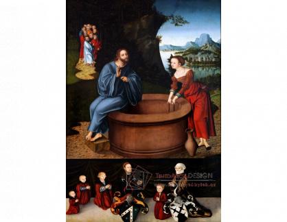 VlCR-106 Lucas Cranach - Kristus a dobrá samaritánka