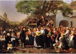 VFGW 100 Ferdinand Georg Waldmüller - Rolnická svatba