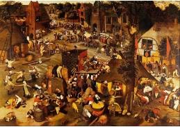 VH156 Jan Brueghel - Vlámské trhy