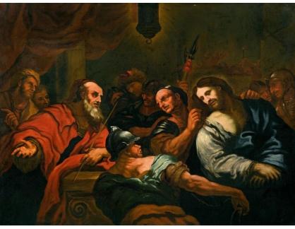 KO III-290 Neznámý autor - Kristus před Kaifášem