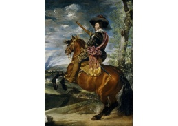 PORT-107 Diego Velázquez - Jezdecký portrét hraběte Olivares