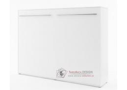 CONCEPT PRO CP-06, široká výklopná postel 90x200cm, bílá